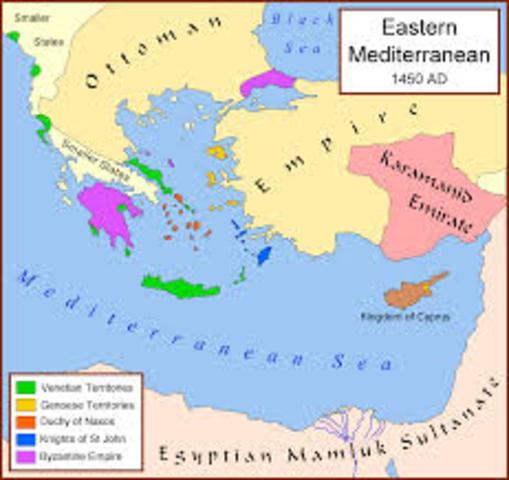 Ottomans take over