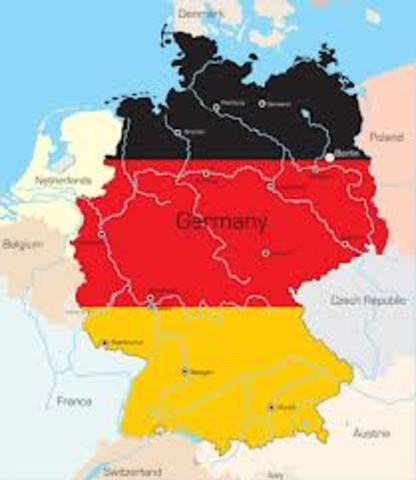 Germany offically unified