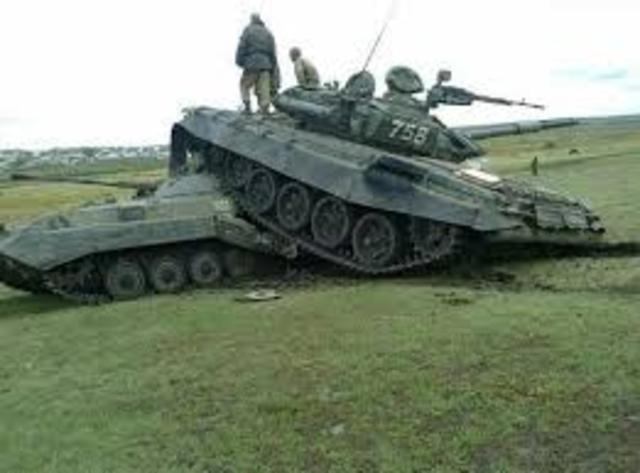 Russian Army out of Ammunition