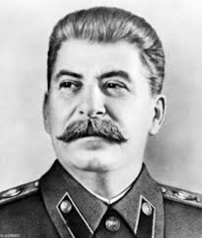 Stalin takes over Russia
