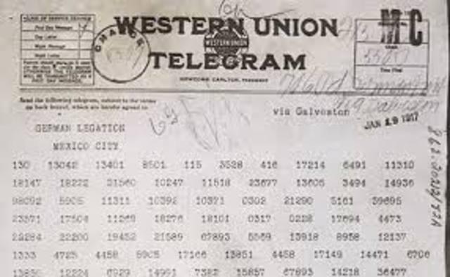 Zimmerman Telegram found