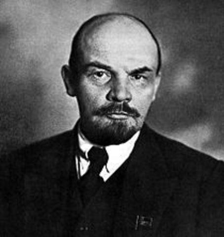 Vladimir Lenin seized power in Russia