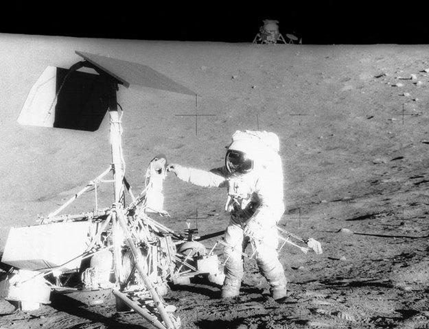 Apollo 12 Launch -- exploring the moon