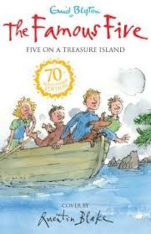 the famous five five on a treasure island