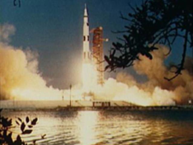 Apollo 6 Launch -- last unmanned test