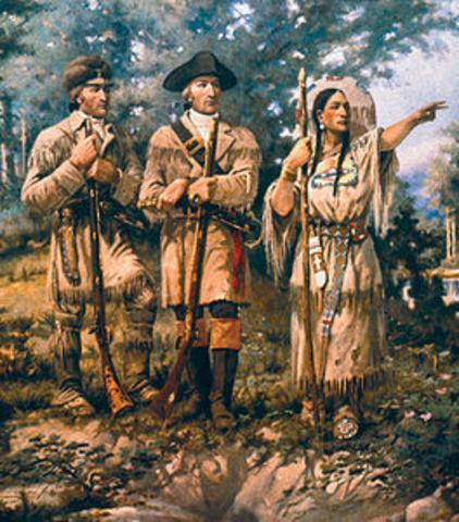 Sacagawea found her brother