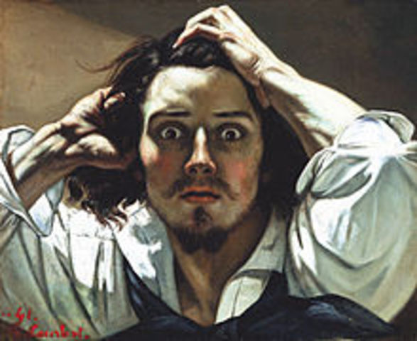 Self-Portrait (The Desperate Man)