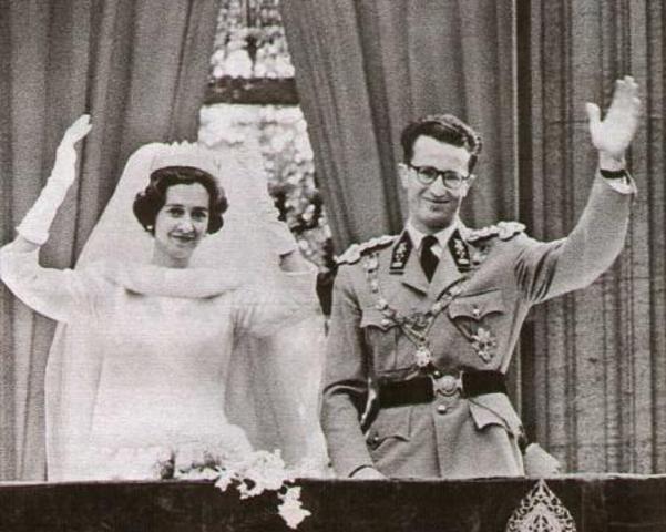 Belangrijke reportage: huwelijk koning Boudewijn en koningin Fabiola