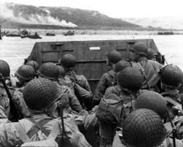 """""""D-day"""" (Slaget om Normandie)"""