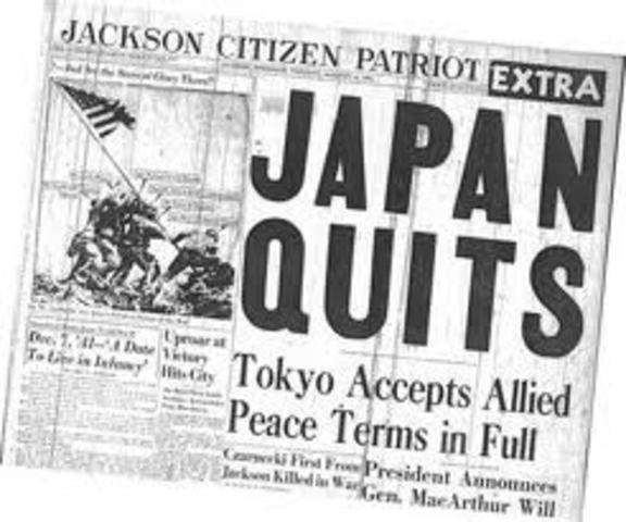 Japan kapitulerar