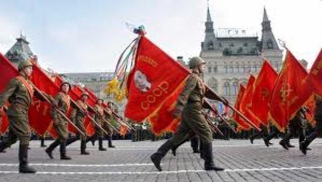 Röda Armén (Ryssland/Soviet) når Tyskland