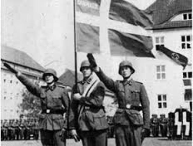 Tyskland anfaller Danmark & Norge