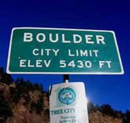 Boulder Meeting is held in Boulder, CO