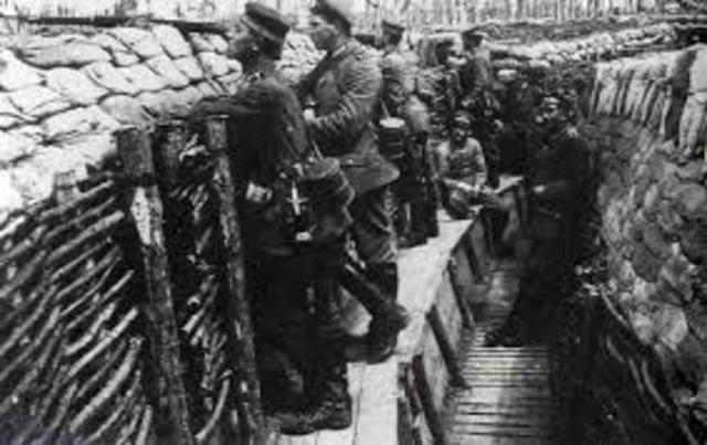 La guerra de trincheras (1915-1918) (2ª parte de la I guerra mundial)