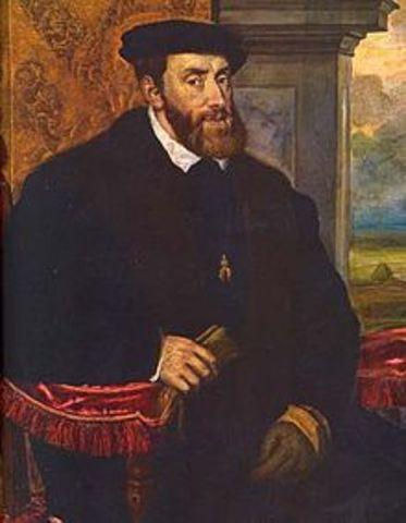 NACE EL EMPERADOR CARLOS V