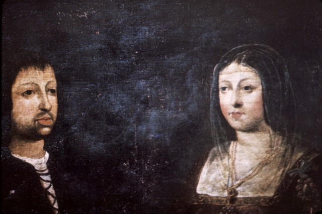 Boda entre Isabel de Castella i Ferran d'Arago