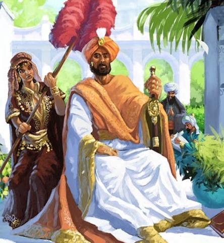 The death of Harun al-Rashid