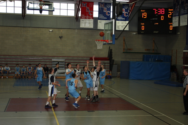 Wininning the CAL Basketball State Championship