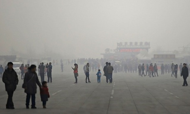 China's PPM in C02 at Dangerous Levels