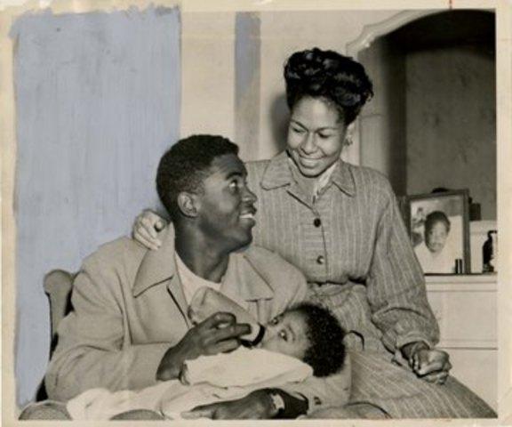 Jacke Robinson had a baby boy