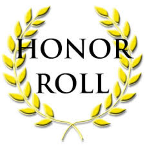 First Time on the Honour Roll