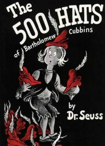 The 500 Hats of Bartholomew Cubbins was published