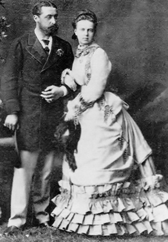 Marriage of Prince Alfred and Grand-Duchess Marie Alexandrovna of Russia