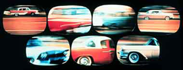 Flimpses of the USA (multiscreen film still)
