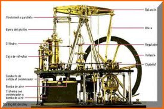 cartwright aplica la maquina de vapor al telar