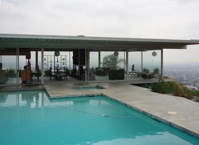 Eames House Pool