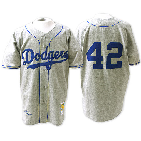 Number 42 is retired from the Dodgers