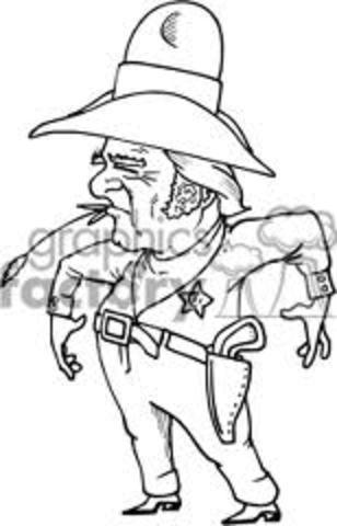 Sheriff Kicks Jackie Off Of Field