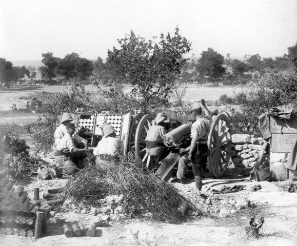 The Battle of Gallipoli begins