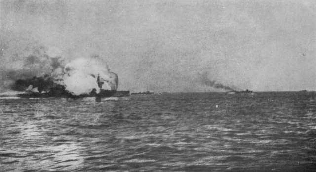 The Battle of Jutland begins