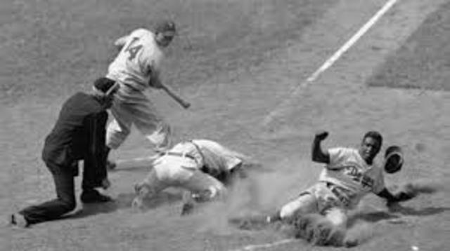Fritz Ostermueller threw a wild pitch and hit jackie