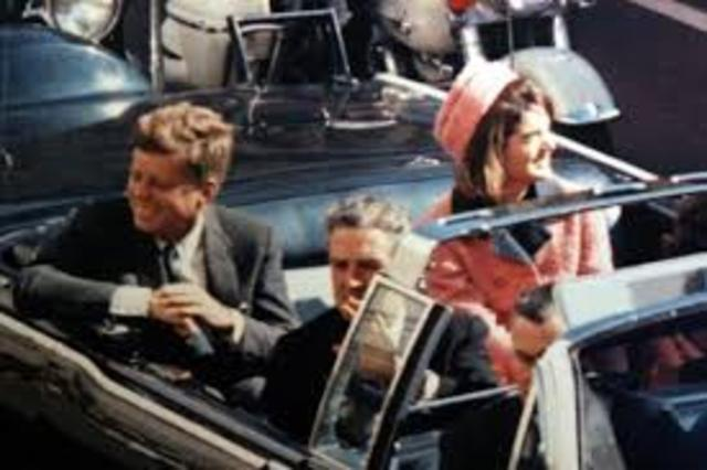 JFK is Assassinated in Dallas, Texas