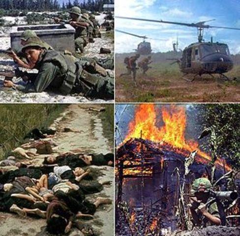 Vietnamkrigen starter
