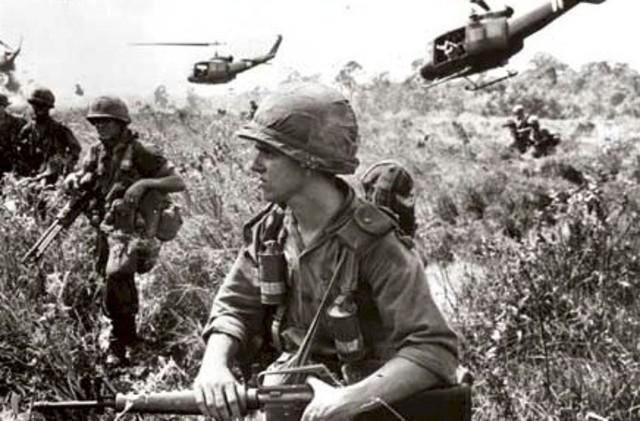 Soldatene blir trukket ut av Vietnam
