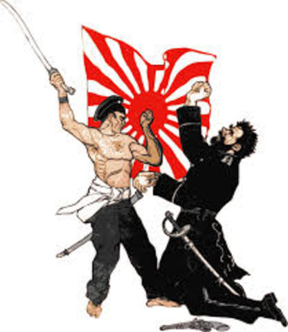 The Russo-Japanese War begins