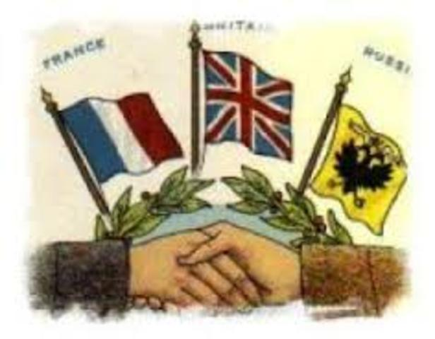 The Formation of the Triple Entente