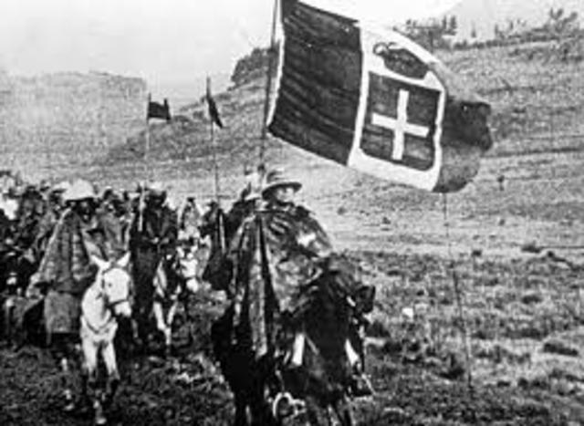 Italy invades Ethipoia