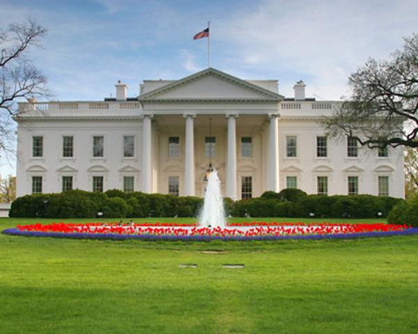 Construction of White House begins