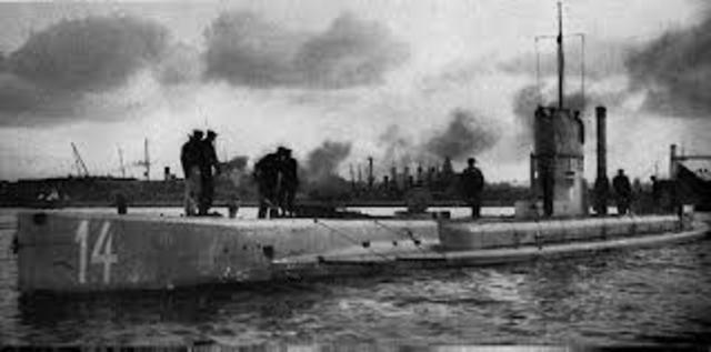 Germany Begins Unrestricted Submarine Warfare