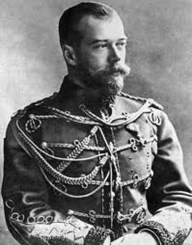 The Abdication of Czar Nicholas II