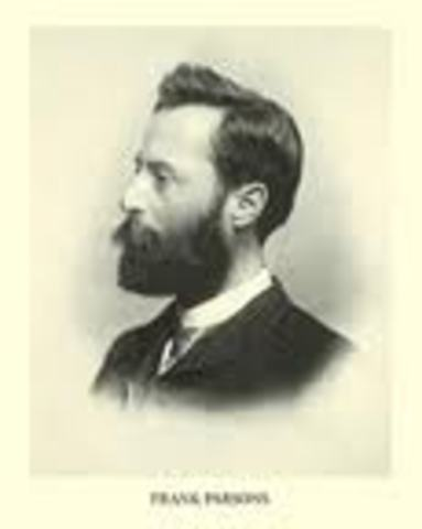 Frank Parsons, Estados Unidos (Boston)