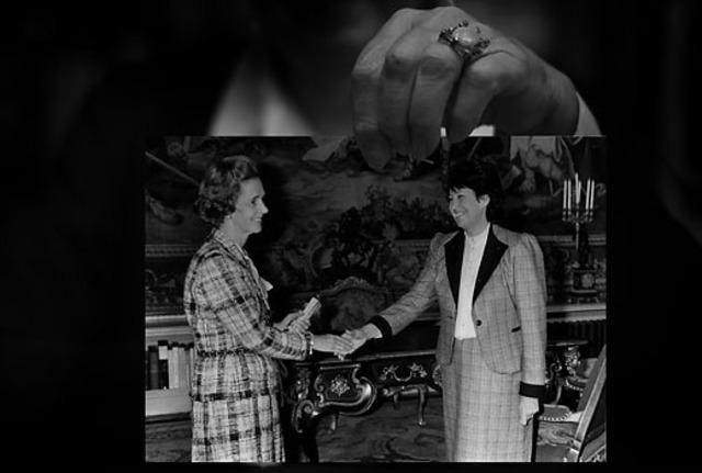 Interview koningin Fabiola door Lutgart Simoens