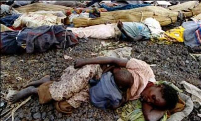 Massamoord in Rwanda