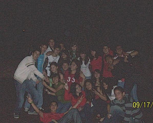 Esta fue una de las primeras fiestas de generacion