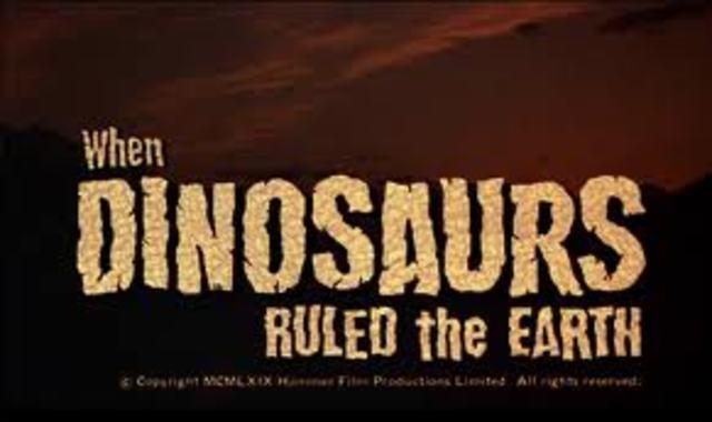 Mesozoic: Begin 245 million years ago