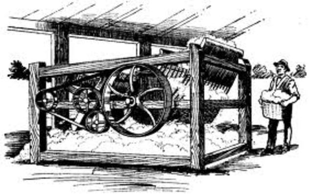 Cotton Gin Developed